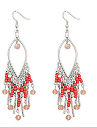 Bohemian Fashion Droplets Beads Earringss
