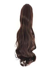 marrón de 50 cm de longitud han edición de la nueva pinza de pelo rizado hembra (de color marrón oscuro)