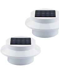 1W Lâmpada de LED a Energia Solar 100 lm Branco Quente / Branco Frio LED Dip Decorativa Bateria V 2 Pças.