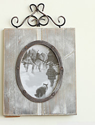 Vintage Theme Wood Photo Frames / Photo Albums / Room Signs Chocolate