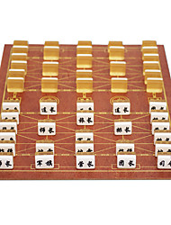 Marines Move Large Military Chess Chess Suits Marines Wooden Board 3.4 Gold + Acrylic Chess Board
