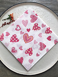 100% virgin pulp Wedding Napkins-20 Piece/Set Luncheon Napkins / Dinner Napkins