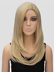 Popular Wigs Blonde Long Length Top Quality Synthetic Wigs