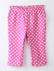 Girl's Polka Dot Pants,Cotton Spring / Fall Red