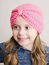 Kid's Handmake Knitting Turban Hat(0-3Years Old)