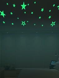 Luminous Stars Wall Stickers,Home Glow In The Dark Stars For Kids Baby Room,Diy Wall Art Home Decor Sticker