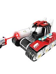 luces cruzadas inalámbricos de voz de carga de simulación eléctrica de juguete de control remoto modelo de tanque militar