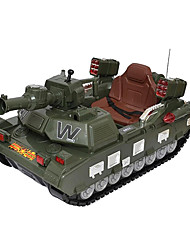 Tank RC Car 2.4G Green Ready-To-Go Tank / Remote Controller/Transmitter / Battery Charger / User Manual