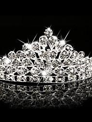 Women's / Flower Girl's Rhinestone / Crystal Headpiece-Wedding / Special Occasion / Outdoor Tiaras 1 Piece