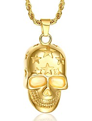 Necklace Pendant Necklaces / Pendants Jewelry Party / Daily / Casual Punk Style Gold Plated Gold 1pc Gift