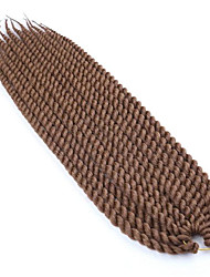 #30 Гавана Наращивание волос 12 14 16 18 20 22 24 Kanekalon 12 нитка 80- 120g/pack грамм косы волос