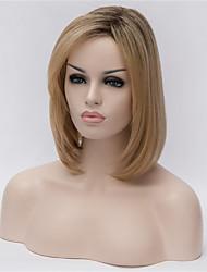 новый парик белье серый градиент частичные точки бобо 10 дюймов