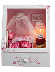 Diy Hut Chi Fun House Music Box Cute Little Bedroom With Light And Music Handmade Gifts