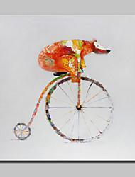 grande mão pintado pintura a óleo modernas paitings animal de lona, com quadro esticado pronto para pendurar