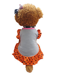 Dog Dress Gray Dog Clothes Summer Hearts