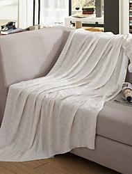 """Трикотаж В соответствии с фото,Сплошная Сплошная 100% акрил одеяла 180*200cm(71""""*79"""")"""
