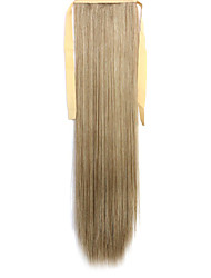 Green Straight Blending Long Straight Hair Wig Ponytails 27A/613