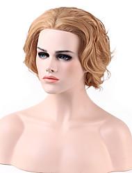 dentelle de mode bob ondulée avant de dentelle de cheveux vierge devant perruque 8 couleurs au choix