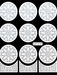 Ongle Art tampon Plate tampon Scraper 14.5cm*10cm