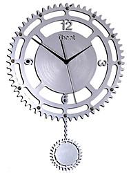 Simple Art Wall Clock (Clock Gear)