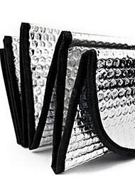 laser de bolha de ar de algodão auto frente guarda-sóis de pára-brisa protetor solar 140 * 70 centímetros