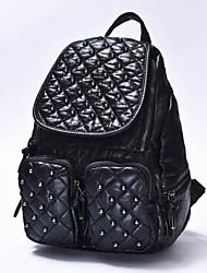 Women Casual / Outdoor PU Zipper Backpack