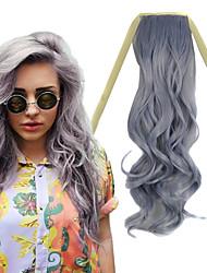 22-Zoll-Oma grau Körperwelle Band in der synthetischen Haarverlängerung