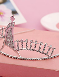 Women's / Flower Girl's Rhinestone / Alloy Headpiece-Wedding / Special Occasion / Outdoor Tiaras 1 Piece