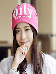 Women Cotton Vintage Casual Letters Printed Fashion Hat All Seasons