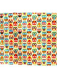 70 * 50 Textilauto Vorhänge Sonnenschutz Baumwolle Eule