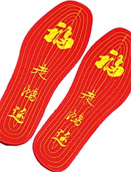 Flat Foot China Traditional Embroidery Insoles Foot Care for Men and Women Outdoor Sports