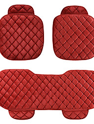 Universal Fit for Car, Truck, Suv, or Van Textile Car Seat Cushion 3 pieces Red
