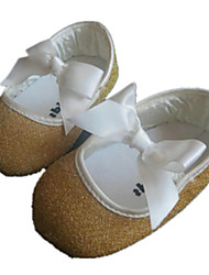Mädchen-Flache Schuhe-Outddor-GlanzKomfort / Rundeschuh-Gold