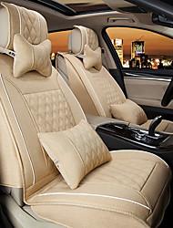luxo tampa de assento do carro 3d assento fits universais assento protetor de cobre com um conjunto de almofadas