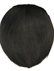 парик черный 8 см высокотемпературный провод стиль ножа стучит цвет 4005