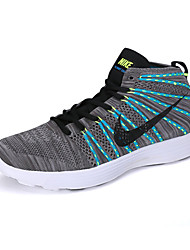 Nike Flyknit Round Toe / Sneakers / Running Shoes / Casual Shoes Men's Wearproof Lace-up / High-Top / Braided GrayRunning/Jogging /