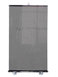 pvc 14 * 8 centímetros guarda-sóis de pára-brisa