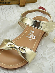 Girl's Sandals Summer Comfort PU Outdoor Silver Gold