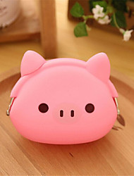 Girls-Casual / Outdoor-Other Leather Type-Coin Purse-Pink / Green / Yellow / Brown / Fuchsia