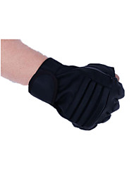 PU gants demi-doigt de remise en forme des gants sports de plein air en cuir imperméable moto d'équitation glisser uv respirabilité