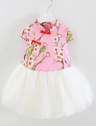 Children's clothing to be sold a generation of fat girls 2016 spring new national high-end baby dress baby dance skirt