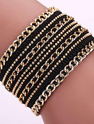 Fashion Bohemia Korea velvet bracelets bracelets Magnetic Clasp #YMG1088