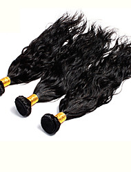 3Pcs/Lot Indian Virgin Hair Natural Wave Unprocessed Indian Virgin Hair Human Hair Weft