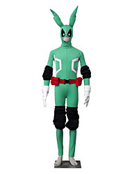 Inspired by My Hero Academy Battle For All/Boku no Hero Academia Midoriya Izuku Anime Cosplay Costumes Cosplay Suits SolidWhite / Black /