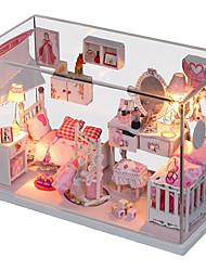 Prinzessin Raum diy Kabine Traum beleuchtet eine Abdeckung montiert Modellbau