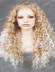 высокое качество длинные волнистые парик шнурка передний парик афроамериканца обычай знаменитости парик парик Эмма лучший парик магазин