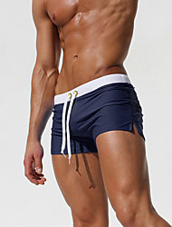 Men's Polyester Boxer Swim Short 7 Color