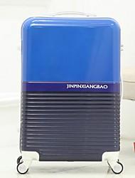 Unisex PVC Outdoor Luggage Blue / Green / Orange