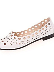 Women's Shoes Fabric Summer Comfort Flats Casual Flat Heel Others Black / Pink / White