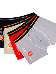 Jinfengtian Men's Cotton / Organic Cotton Boxers 4/box-1018